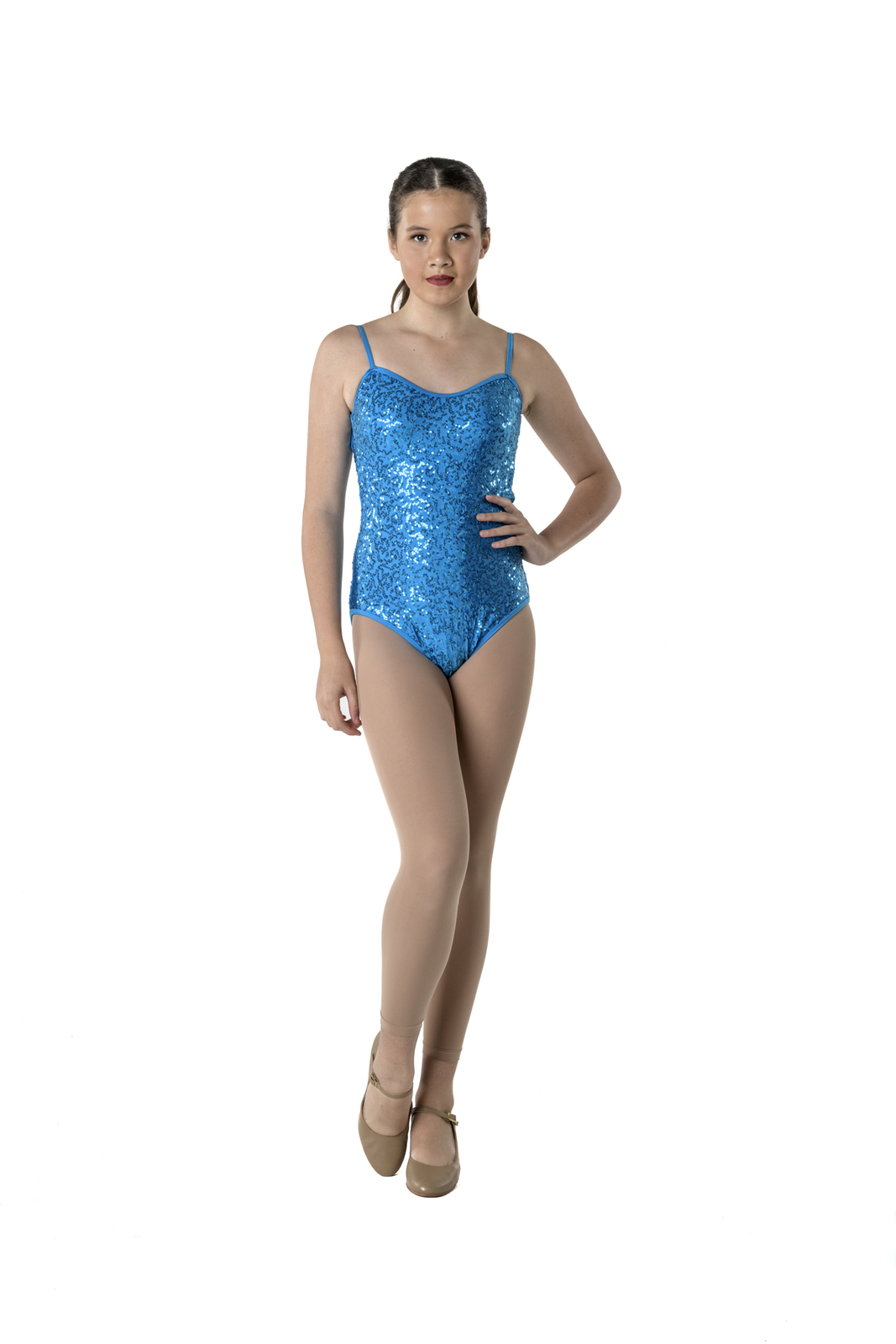 Studio 7 Sequin Camisole Leotard Adult