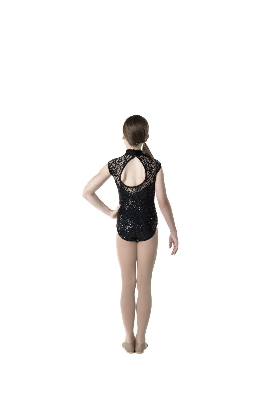 Studio 7 Deco Lace Leotard Adult