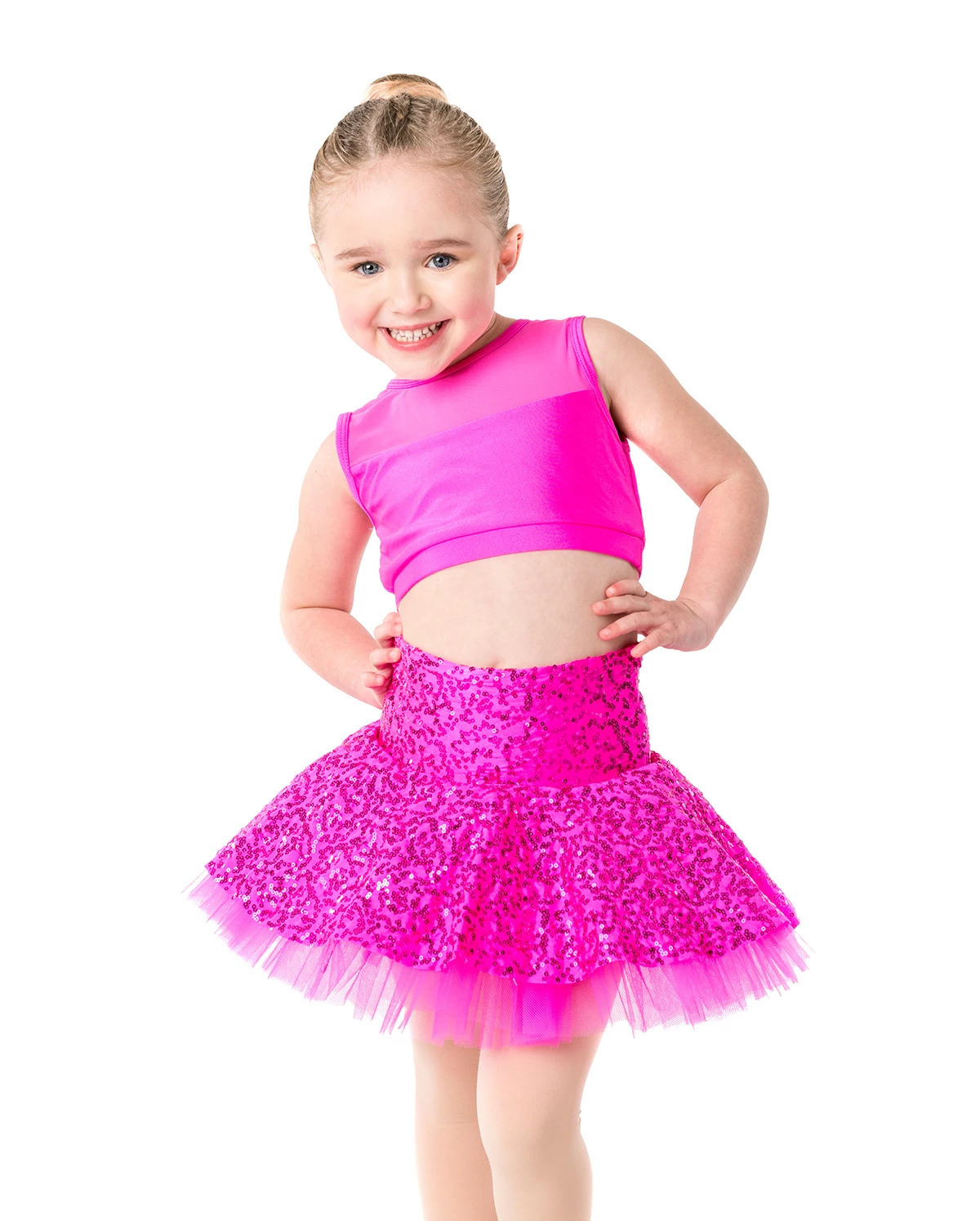Studio 7 Sequin Skater Skirt Child