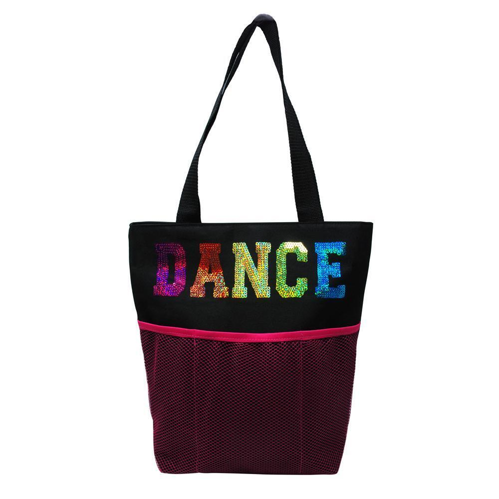 Pink Poppy Dance Tote Bag