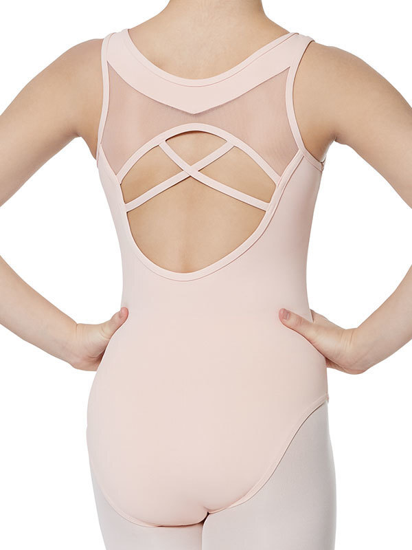 Strut Stuff Shani Leotard- Child 10 [Rose Cloud]