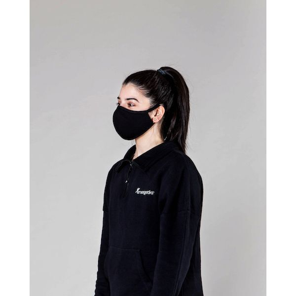 Energetiks Face Mask - Black