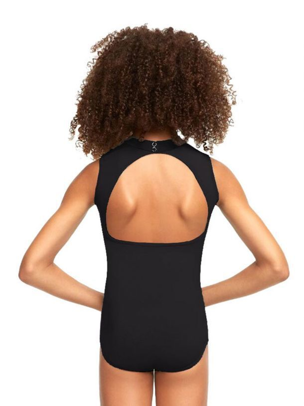 Capezio Studio Collection High Neck Leotard Child