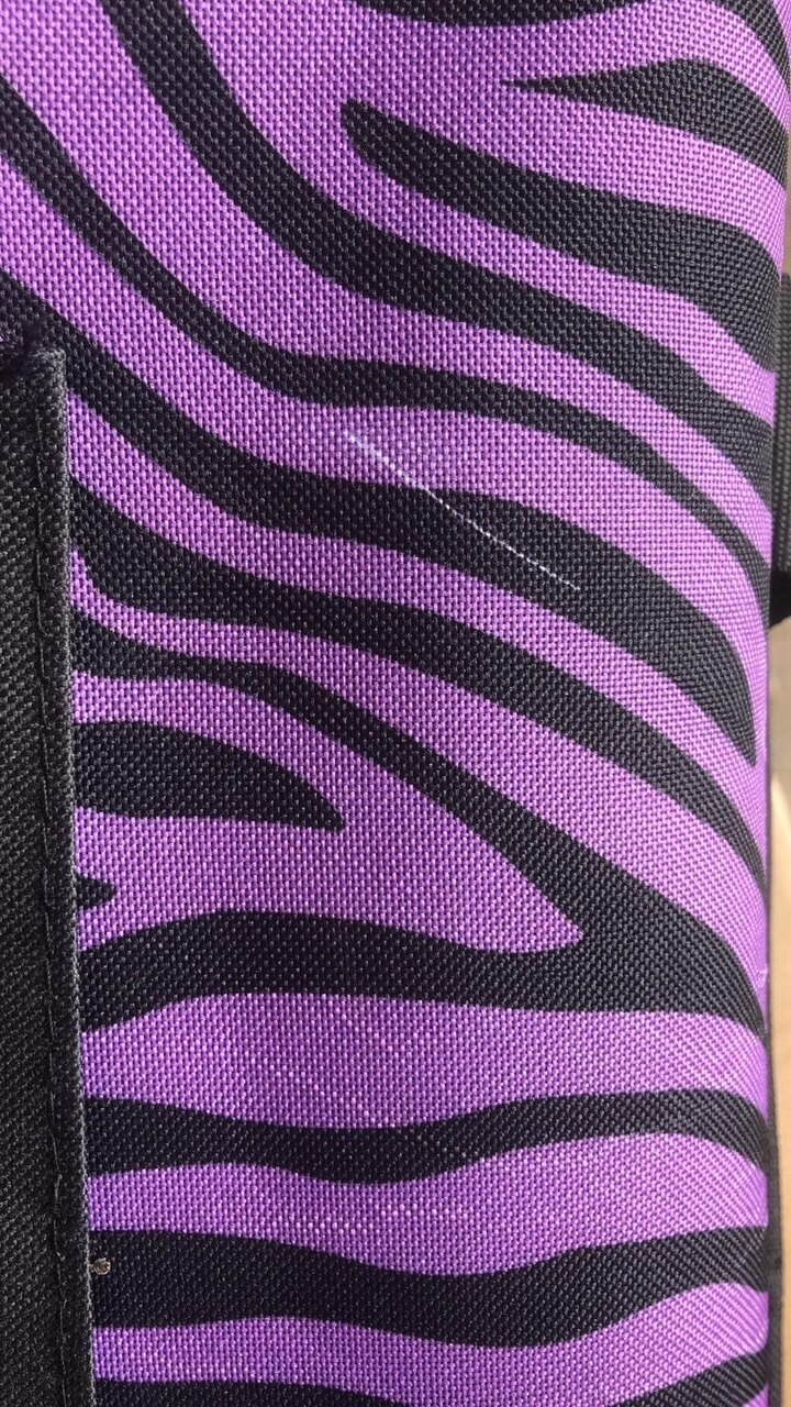 Dream Duffel Seconds Small Zebra Purple Bag Only