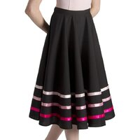 Bloch Pink Ribbon Character Skirt Girls