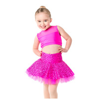 Studio 7 Children's Sequin Skater Skirt