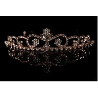 Mad Ally Large Willow Tiara Rose Gold