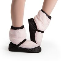Bloch Candy Pink Warm Up Bootie Adult