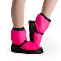 Bloch Pink Fluro Warm Up Bootie Adult