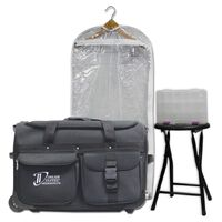 Dream Duffel Seconds Medium Zebra Purple Bag Only
