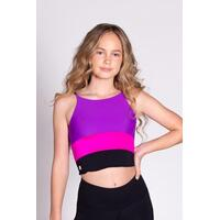 Sylvia P Flashdance Cropped Singlet