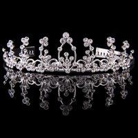 Mad Ally Large Diamante Tiara