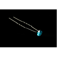 Mad Ally Diamante Bun Pin- Turquoise