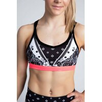 Sylvia P Orient Crop Top