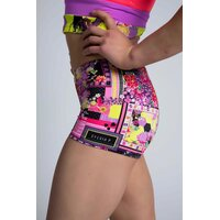 Sylvia P Origami Patchwork Short