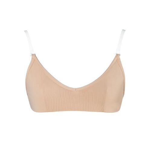 Energetiks Clear Back Bra [Colour: Flesh][Size: Child Large]