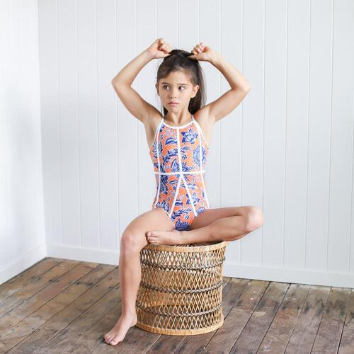 Chasing OSO Desert Flower Leotard Child 12