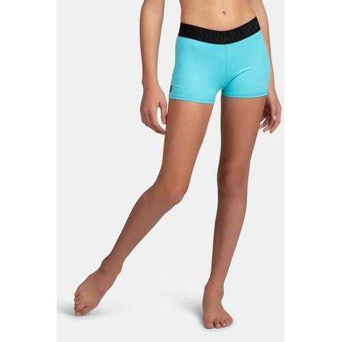 Sylvia P Elite Short Adult Small; Aqua